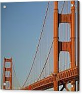 The Golden Gate Bridge At Dawn Acrylic Print
