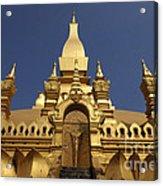 The Golden Palace Laos Acrylic Print