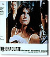 The Graduate, Anne Bancroft, Katharine Acrylic Print by Everett