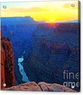 The Grand Canyon Solitude At Toroweap Acrylic Print