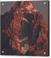 The Grand Teton At Sunrise Acrylic Print
