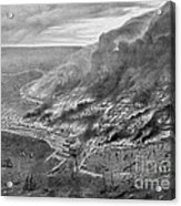 The Great Chicago Fire, 1871 Acrylic Print