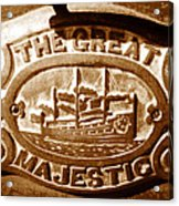 The Great Majestic Acrylic Print