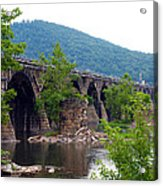 The Great Old Bridge Acrylic Print