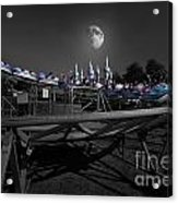 The Great Space Coaster Acrylic Print