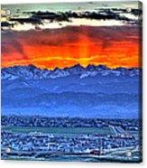 The Great Sunset Acrylic Print