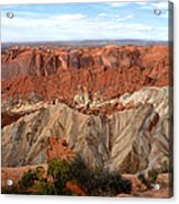 The Great Upheaval Dome Acrylic Print