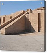The Great Ziggurat Of Ur Was Built Acrylic Print