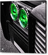 The Green Hornet - Black Beauty Close Up Acrylic Print