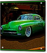 The Green Machine Acrylic Print