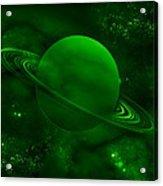 The Green Planet Acrylic Print