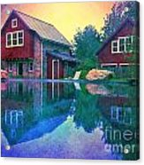 The Guest Cottage Acrylic Print by Kevyn Bashore