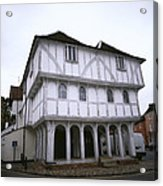 Thaxted Guildhall Acrylic Print