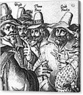 The Gunpowder Rebellion, 1605 Acrylic Print