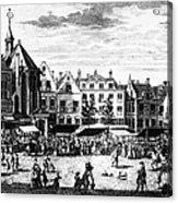The Hague: Market, 1727 Acrylic Print