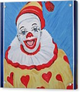 The Happy Clown Acrylic Print