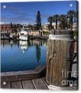 The Harbour At Mindarie Acrylic Print