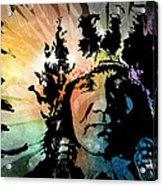 The Headdress Acrylic Print