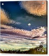 The Heavy Clouds Acrylic Print