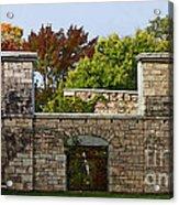 The Hermitage Acrylic Print by Barbara McMahon
