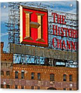 The History Channel Acrylic Print