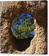 The Hole In The Boot Acrylic Print