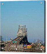 The Horace Wilkinson Bridge Over The Mississippi River In Baton Rouge La Acrylic Print
