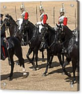 The Household Cavalry Performs Acrylic Print