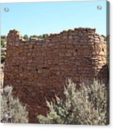 The Hovenweep Twin Towers Acrylic Print