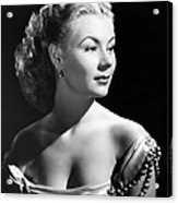 The I Dont Care Girl, Mitzi Gaynor Acrylic Print by Everett