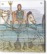 The Iliad: Neptune, 1805 Acrylic Print