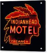 The Indianhead Acrylic Print