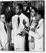 The Ink Spots, C1945 Acrylic Print