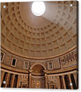 The Inside Of The Pantheon Acrylic Print