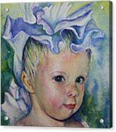 The Iris Princess Acrylic Print