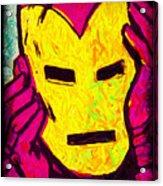The Iron Scream Acrylic Print