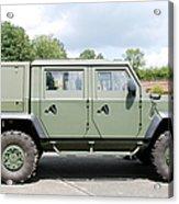 The Iveco Light Mulirole Vehicle Acrylic Print