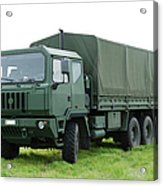 The Iveco M250 Used By The Belgian Army Acrylic Print