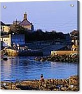 The James Joyce Tower, Sandycove, Co Acrylic Print