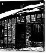The Jones  Acrylic Print by Empty Wall