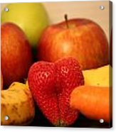 The Joy Of Fruit In The Morning Acrylic Print by Andrea Nicosia