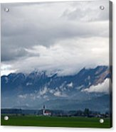 The Kamnik Alps After A Storm Acrylic Print