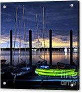 The Kayak Acrylic Print
