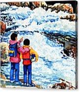 The Kayak Racer 14 Acrylic Print