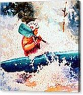The Kayak Racer 18 Acrylic Print