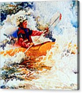 The Kayak Racer 19 Acrylic Print