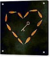 The Key To My Heart Acrylic Print