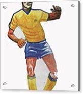 The King Pele Acrylic Print