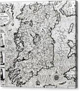 The Kingdom Of Ireland Acrylic Print