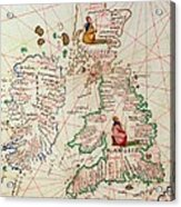 The Kingdoms Of England And Scotland Acrylic Print